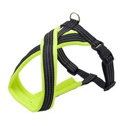 Каскад шлейка Х-образная с мягкой подкладкой, цвет зеленый