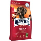 Happy Dog Supreme Sensible - Africa беззерновой корм для собак страдающих пищевой непереносимостью, с мясом страуса