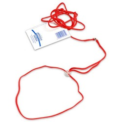 """Show Tech нейлоновая ринговка с креплением """"шарик"""", 1,5мм х 120 см, цвет красный"""