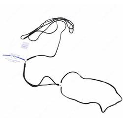 """Show Tech нейлоновая ринговка с креплением """"шарик"""", 1,5мм х 120 см, цвет черный"""