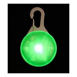V.I.Pet маячок светящийся на ошейник круглый, арт. 1003