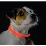 Hunter Yukon Светящийся ошейник-шнурок на шею, размер 20-70 см, оранжевый