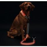 Hunter Manoa Glow Светящийся поводок, 120см, цвет оранжевый
