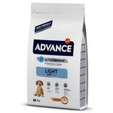 Advance Mini Light для собак малых пород с курицей и рисом, контроль веса