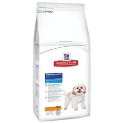 Hill`s для взрослых собак мелких пород старше 7 лет, с курицей, Canine Mature Adult 7+ Active Longevity™ Mini with Chicken