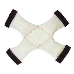 Petto Тренировочная игрушка апорт Hard Dog Х белый 30 см GoSi