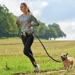 Hunter пояс для бега с собакой Tacoma Active, в комплекте поводок-амортизатор 120 см