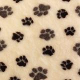 ProFleece меховой коврик на нескользящей основе, цвет сливки и шоколад