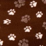 ProFleece меховой коврик на нескользящей основе, цвет шоколад и сливки