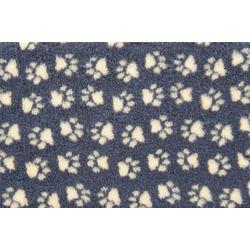 ProFleece меховой коврик на нескользящей основе, цвет угольный с желтым
