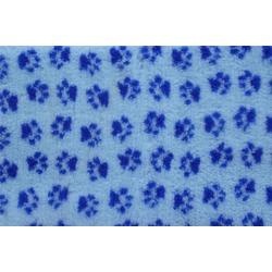 ProFleece меховой коврик на нескользящей основе, цвет голубой с синим