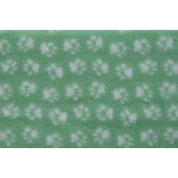 ProFleece меховой коврик на нескользящей основе, цвет мятный с белым