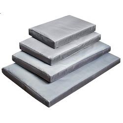 Darell лежак со съемным чехлом, цвет серый