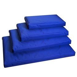 Darell лежак со съемным чехлом, цвет синий