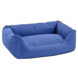 Darell лежак мягкий с подушкой, цвет синий
