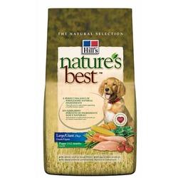 Hill`s для взрослых собак крупных и гигантских пород, с курицей и овощами, Nature's Best puppy Large/Giant, 12 кг