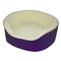 Dezzie овальный лежак со съемной подушкой