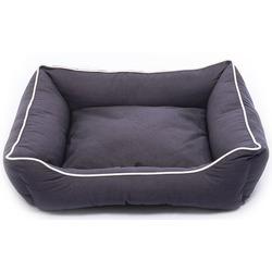 Лежанка Dog Gone Smart «Lounger Bed» цвет темно-серый