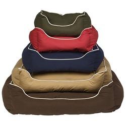 Лежанка Dog Gone Smart «Lounger Bed» цвет красный