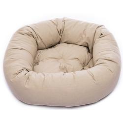 Лежанка овальная Dog Gone Smart «Donut», цвет бежевый