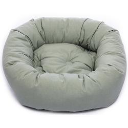 Лежанка овальная Dog Gone Smart «Donut», цвет зеленый