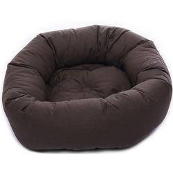 Лежанка овальная Dog Gone Smart «Donut», цвет коричневый