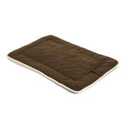 Подстилка с меховой отделкой Dog Gone Smart «Crate Pad», цвет коричневый