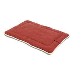 Подстилка с меховой отделкой Dog Gone Smart «Crate Pad», цвет красный