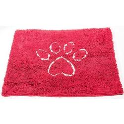 """Супервпитывающий коврик Dog Gone Smart """"Dirty Dog Doormat"""", цвет красный"""