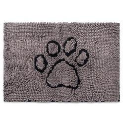 """Супервпитывающий коврик Dog Gone Smart """"Dirty Dog Doormat"""", цвет серый"""