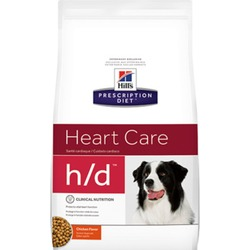 Hill`s H/D, для поддержания функций сердца, для собак, 5 кг