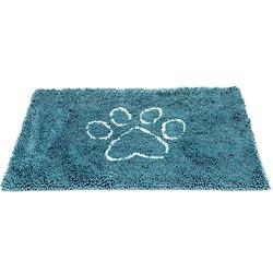 """Супервпитывающий коврик Dog Gone Smart """"Dirty Dog Doormat"""", цвет морской волны"""