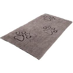Коврик универсальный cупервпитывающий Dog Gone Smart «Doormat Runner», цвет серый, размер 76х152 см