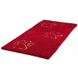 Коврик универсальный cупервпитывающий Dog Gone Smart «Doormat Runner», цвет красный, размер 76х152 см