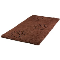 Коврик универсальный cупервпитывающий Dog Gone Smart «Doormat Runner», цвет коричневый, размер 76х152 см