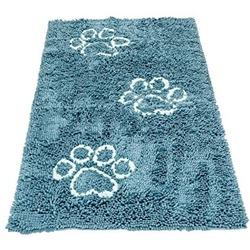 Коврик универсальный cупервпитывающий Dog Gone Smart «Doormat Runner», цвет морской волны, размер 76х152 см