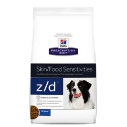 Hill`s Z/D Ultra лечение острых пищевых аллергий, для собак
