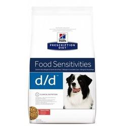 Hill`s D/D лечение пищевых аллергий, для собак, с лососем и рисом