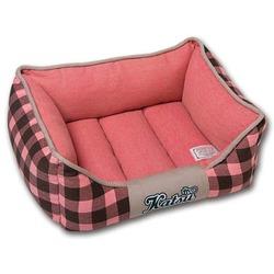 """Katsu """"Комфорт"""" лежак с бортиками, цвет розовый"""