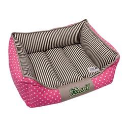 """Katsu """"Америка"""" лежак с бортом, розовый."""