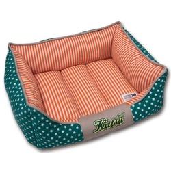 """Katsu """"Америка"""" лежак с бортом, зеленый."""