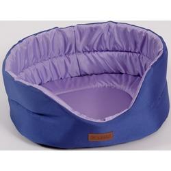 "Katsu ""Classic Shine"" лежак с бортом, фиолетовый-лаванда."