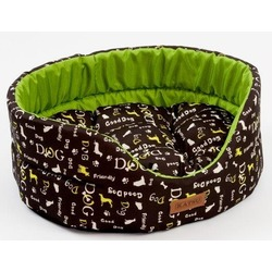 Katsu лежанка Yohanka shine Dogs, цвет зеленый