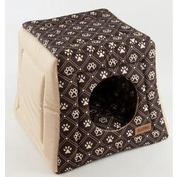 Katsu домик-трансформер Hopi Dog Paws, цвет бежево-коричневый, 40*40*35 см