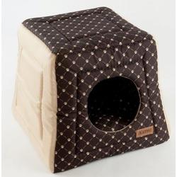 Katsu домик-трансформер Hopi Cat Paw, цвет бежево-коричневый, 40*40*35 см