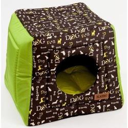 Katsu домик-трансформер Hopi Dogs, цвет зеленый, 40*40*35 см