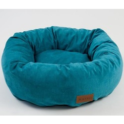 Katsu лежак Rondo, цвет бирюзовый, диаметр 50 см