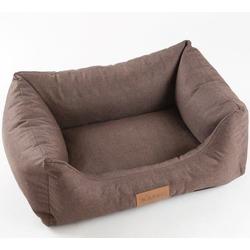 Katsu лежак Sofa Len, цвет коричневый, 80х60х25 см