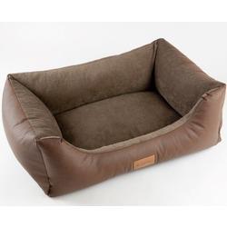 Katsu лежак Sofa Skaj, цвет светло-коричневый, 80х60х25 см