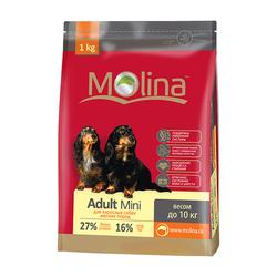 Molina корм для взрослых собак мелких пород «Adult Mini»